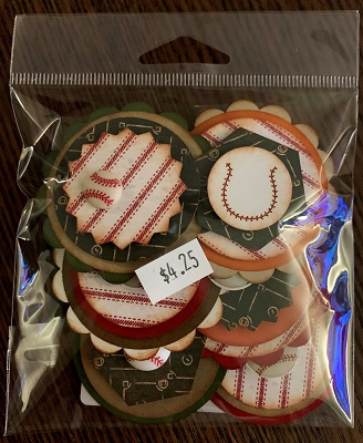 Baseball #225 Button Bitz