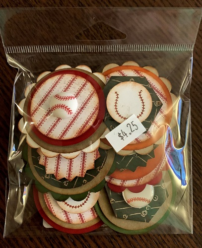 Baseball #248 Button Bitz