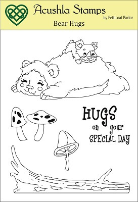 Bear Hugs Clear Stamp ** Stamp of the Week Project Kit88