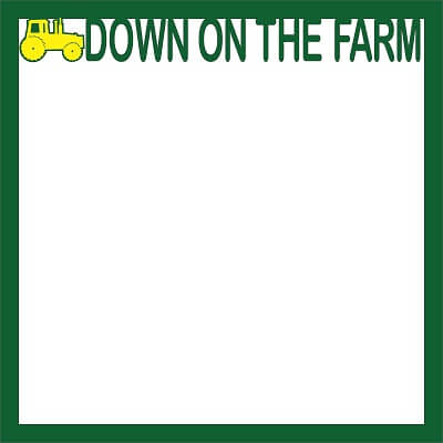 Down on the Farm Page