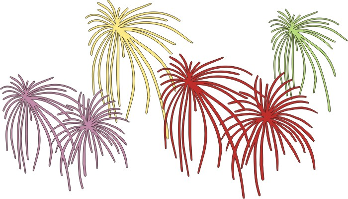 Fireworks Pack of 4