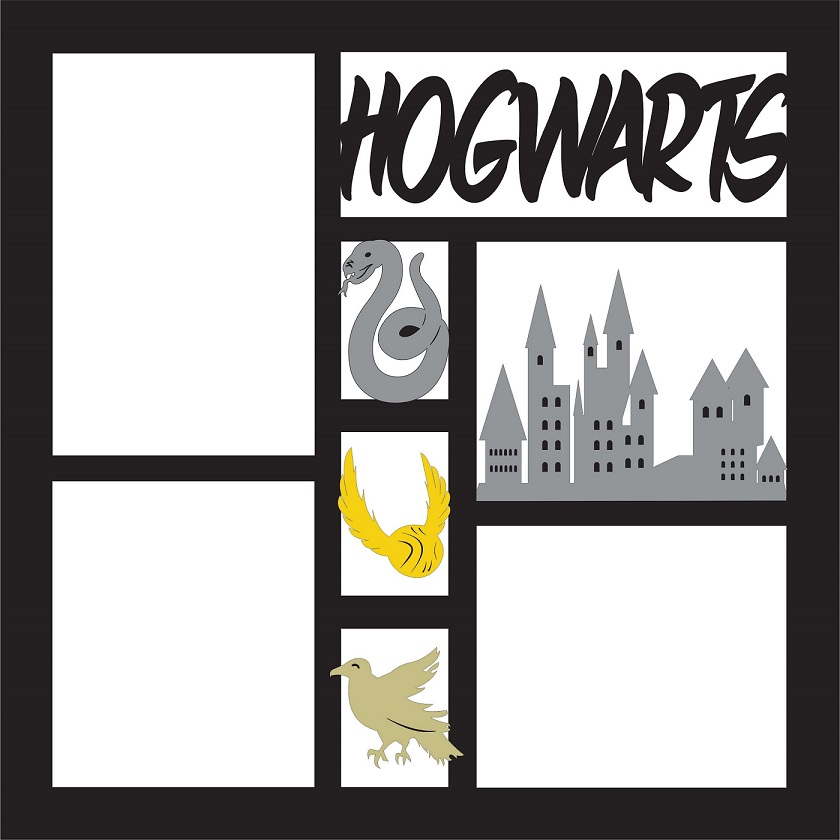 Hogwarts Full Page Layout