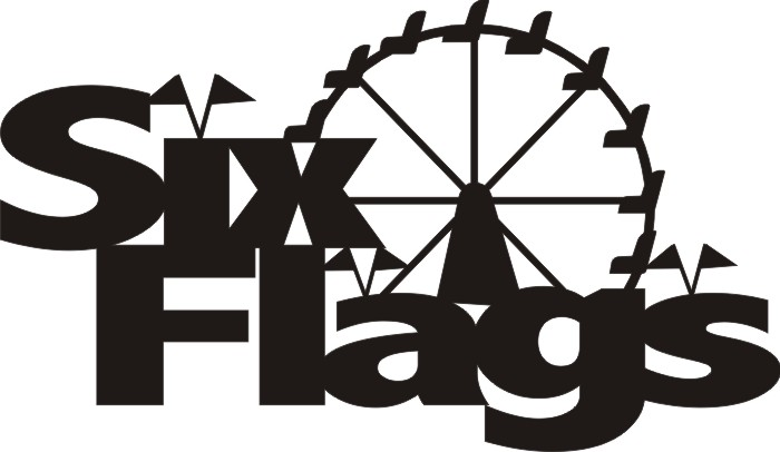 Six Flags with Ferris Wheel