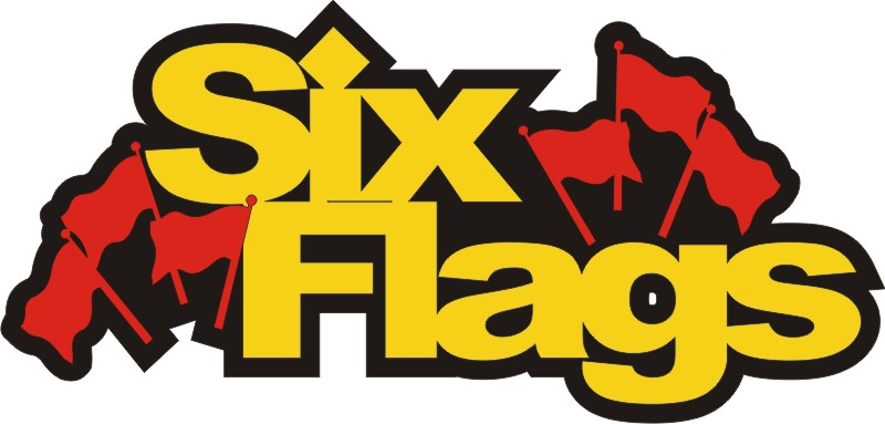 Six Flags with Flags