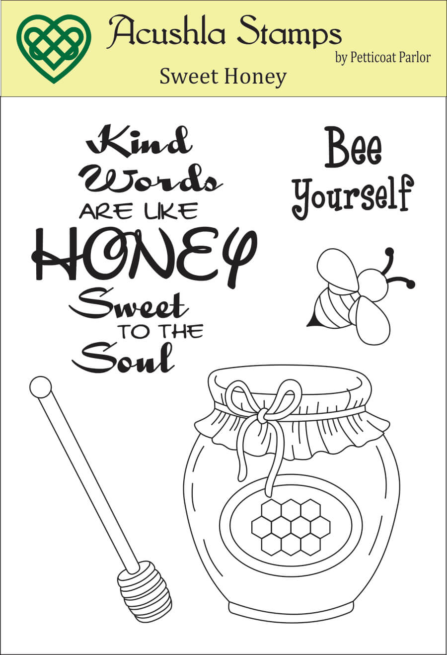 Sweet Honey Clear Stamp