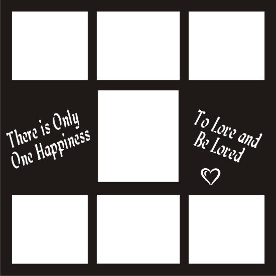 "One Happiness - 12 x 12"" Wedding Frame"