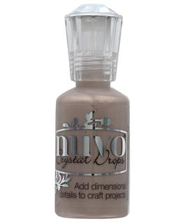 Nuvo Crystal  Drops 1oz Metallic Antique Rose
