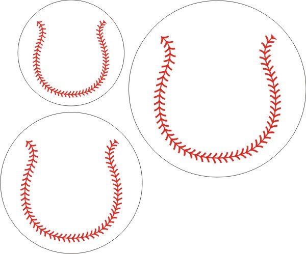 Baseballs ( set of 3 )
