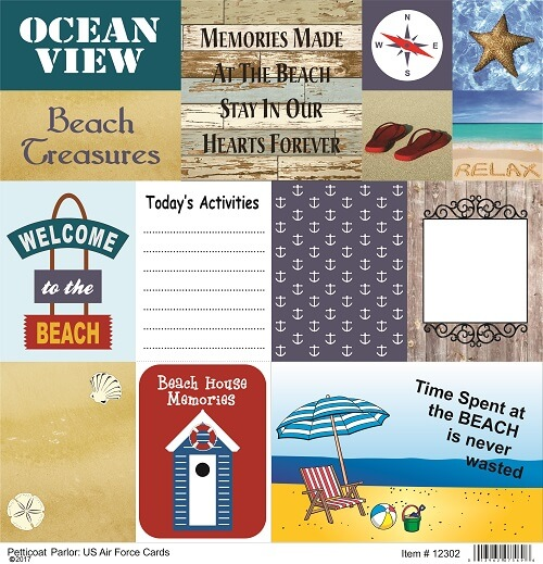 Beach Therapy Cards Paper