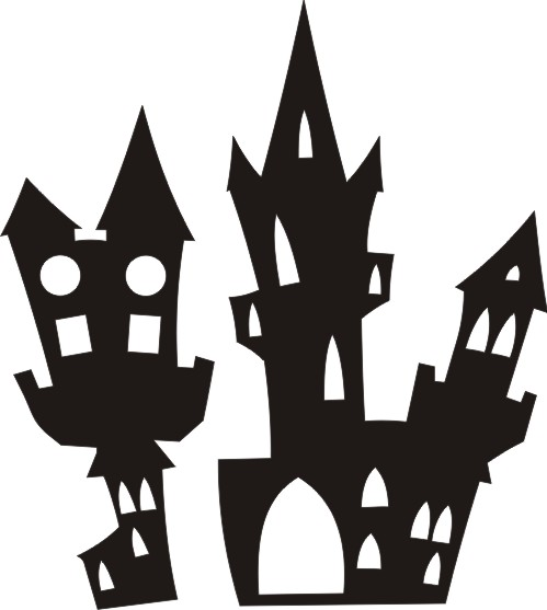 Halloween Houses set of 2