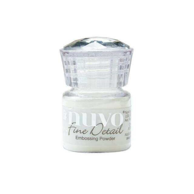 Nuvo Clear Fine Details Embossing Powder